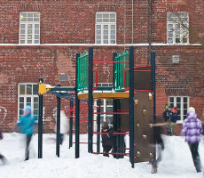 Koulun piha