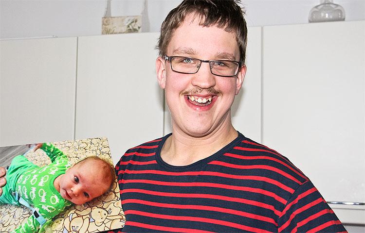 Janne Valkonen on tullut Rantakoivuun hiljattain. Veljen poikavauva on Jannelle erityisen rakas ja kiva kaveri, joka saa hymyn kasvoille.