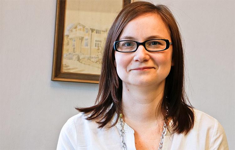 Aula-työkodin kehitysjohtaja Maria Kullberg odottaa paljon hakemuksia uusiin Avainringin asuntoihin.