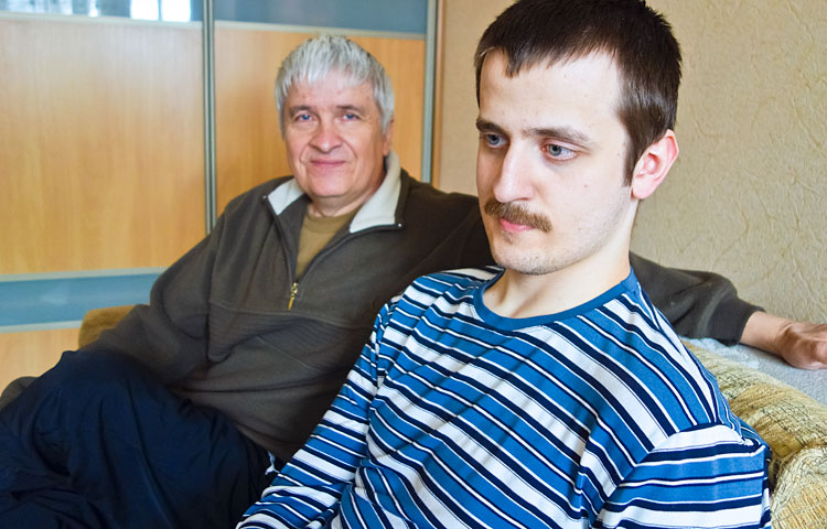 Sergei Gunosov on ylpeä pojastaan Mihailista.