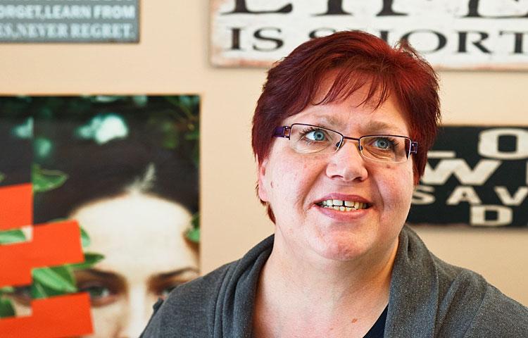 Krista Virta haluaa tehdä työtä vammaisalalla lopun ikäänsä.
