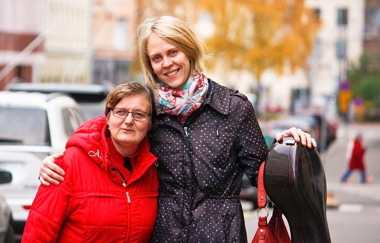 Ulla Lampela ja Katariina Hietaniemi ovat olleet kaveruksia jo monien vuosien ajan.