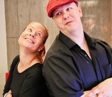 Musiikkia tehdessään Tanja Hakkaraisen ja Kalle Salosen arkiroolit katoavat.