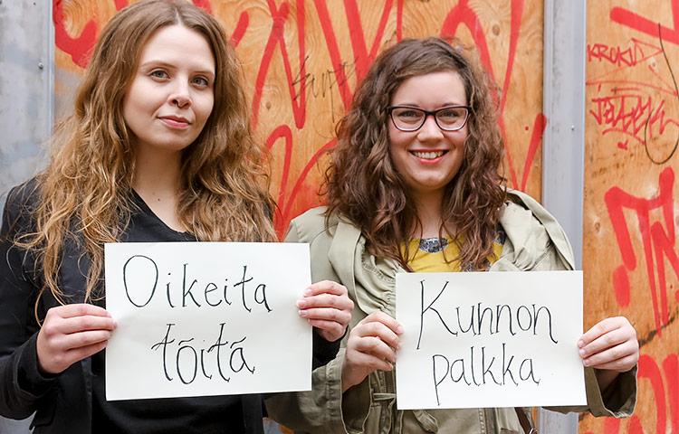 Myö Hostelin perustajat Jenny Närhinen ja Maiju Sundvall turhautuivat kehitysvammaisten ihmisten surkeaan työtilanteeseen ja päättivät tehdä asialle jotakin.