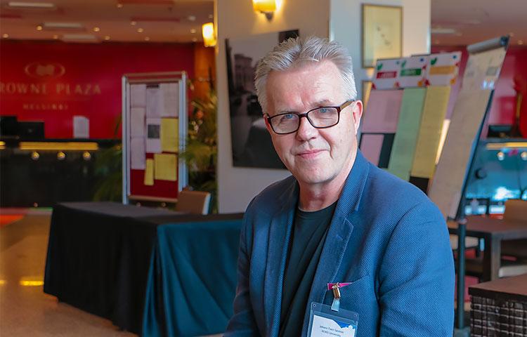 Professori Johans Tveit Sandvin on kotimaassaan Norjassa tunnettu mielipidevaikuttaja.