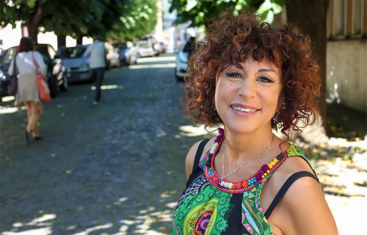 FASD-tutkija Simona Pichini kuuluu siihen 37 prosenttiin italialaisnaisista, jotka eivät käytä alkoholia lainkaan.