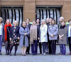 #kotimatkalla-hankkeen suomalainen asiantuntijaryhmä vieraili Skotlannissa ottamassa oppia paikallisesta asuntoverkostotyöstä.