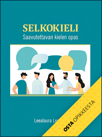 Osta Selkokieli - Saavutettavan kielen opas -teos Opike-kaupasta.