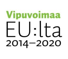 Vipuvoimaa EU:lta 2014 - 2020 -tunnus.