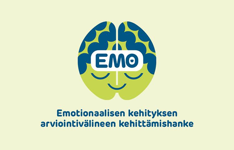 EMO - Emotionaalisen kehityksen arviointivälineen kehittämishanke -logo.